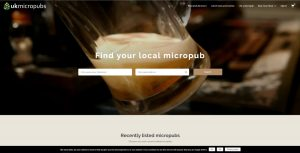 UK Micropubs website screendump